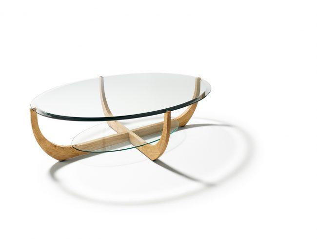 Juwel couchtisch oval